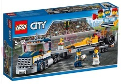LEGO CITY DRAGSTER TRANSPORTVOERTUIG