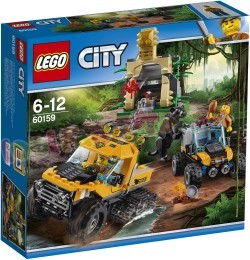 LEGO CITY JUNGLE MISSIE MET HALFRUPS-