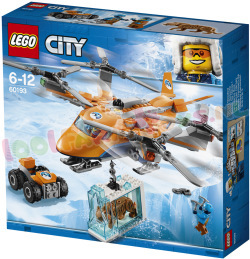 LEGO CITY POOLLUCHTTRANSPORT