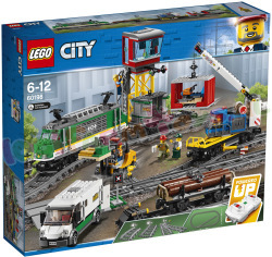 LEGO CITY VRACHTTREIN MODEL 2018