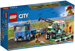 LEGO CITY Maaidorser Transport