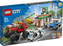 LEGO CITY Politiemonstertruck overval