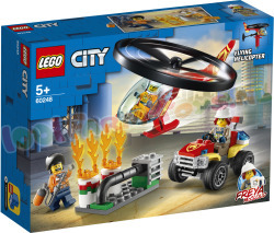 LEGO CITY Brandweerhelikopter reddings-