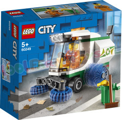 LEGO CITY Straatveegmachine