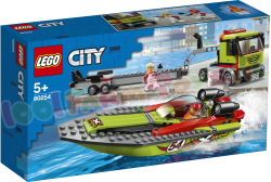 LEGO CITY Raceboottransport