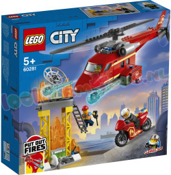 LEGO CITY Brandweer ReddingsHelikopter