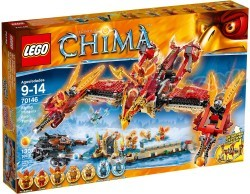 LEGO LEGENDS OF CHIMA PHOENIX VUURTEMPEL