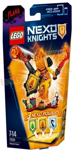 LEGO NEXO KNIGHTS ULTIMATE FLAMA