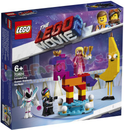 LEGO MOVIE Koningin Wiedanook Watdanook