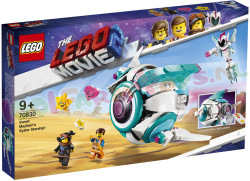 LEGO MOVIE Lieve Chaos'SystarRuimteSchip