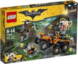 LEGO BATMAN MOVIE BANE GIFTRUCK-AANVAL