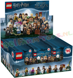 HARRY POTTER   MINIFIGUUR 60 stk in doos