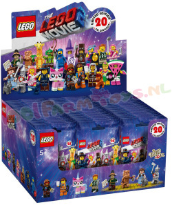 LEGO Movie 2  Minifiguren per doos 60stk