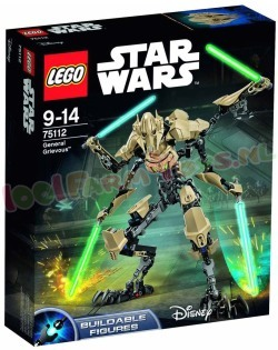 STAR WARS CONSTRACTION GENERAL GRIEVOUS