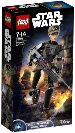 LEGO STAR WARS SERGEANT JYN ERSCO