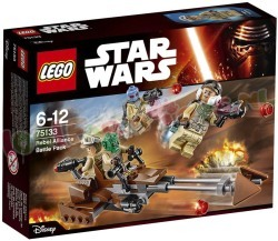 STAR WARS REBELS ALLIANCE BATTLE PACK