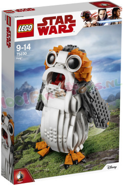 STAR WARS Porg ** Nu in ACTIE **