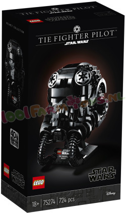 LEGO Star Wars TIE Fighter Pilot™ helm