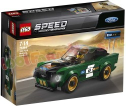 LEGO SPEED FORD MUSTANG 1986 FASTBACK