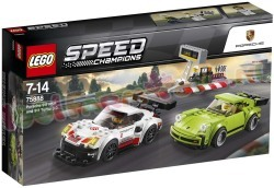 LEGO SPEED PORSCHE 911RSR & 911TURBO 3.0