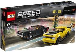 LEGO SPEED Dodge Challenger SRT Demon en
