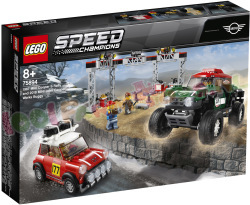 LEGO SPEED 1967 Mini Cooper S Rally en