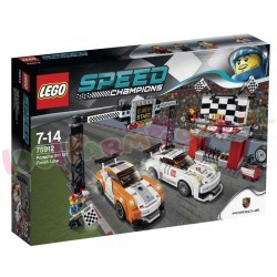 LEGO SPEED PORSCHE 911 GT FINISH