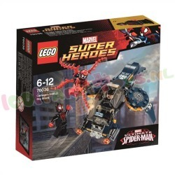 LEGO HEROES CARNAGES SHIELD LUCHTAANVAL
