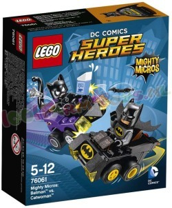 LEGO HEROES MIGHTY MICROS BATMAN VS CAT-