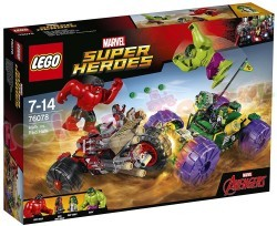 LEGO MARVEL HEROES HULK VS. RED HULK