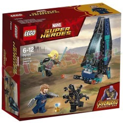 LEGO HEROES OUTRIDER SHUTTLE AANVAL