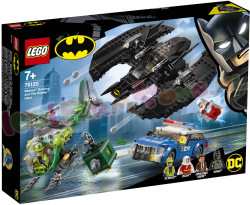 Batman Batwing en de overval van The