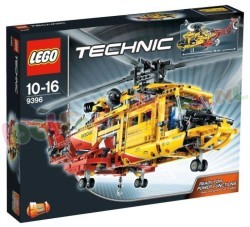 LEGO TECHNIC RESCUE HELICOPTER GEEL/ROOD
