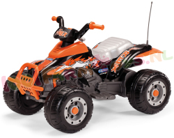 CORREL T-REX BLACK/ORANGE QUAD 12V