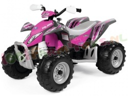 POLARIS OUTLAW PINK POWER 4WIEL 12volt