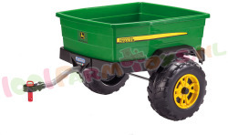 ADVENTURE JOHN DEERE TRAILER PEG PEREGO