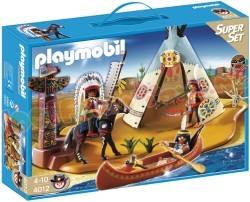PLAYMOBIL SUPERSET INDIANENSTAM