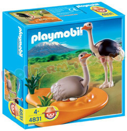PLAYMOBIL STRUISVOGEL MET NEST