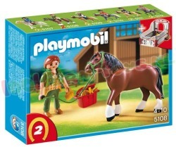 PLAYMOBIL PAARD SHIRE