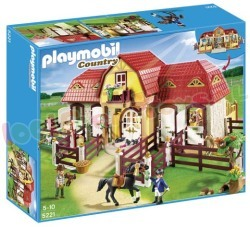 PLAYMOBIL PAARDENRANCHE