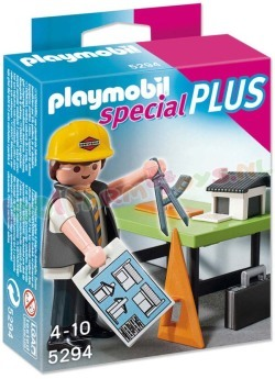PLAYMOBIL ARCHITECT MET MAQUETTE