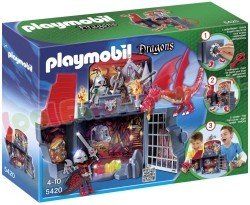 "PLAYMOBIL SPEELBOX ""DRAKENRIDDER"""