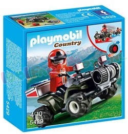 PLAYMOBIL REDDINGSQUAD IN DE BERGEN