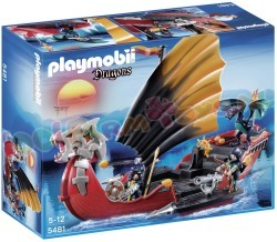 PLAYMOBIL DRAKENSLAGSCHIP