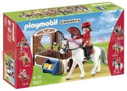 PLAYMOBIL ANDALUSIER MET PAARDENBOX
