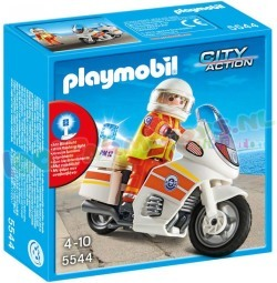 PLAYMOBIL AMBULANCIER OP MET MOTOR