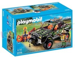 PLAYMOBIL 4X4 PICKUP JEEP AUTO