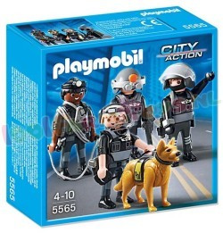 PLAYMOBIL ARRESTATIETEAM / COMMANDO'S