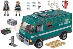 PLAYMOBIL WAARDETRANSPORTWAGEN
