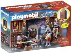 PLAYMOBIL SPEELBOX RIDDER EN SMID